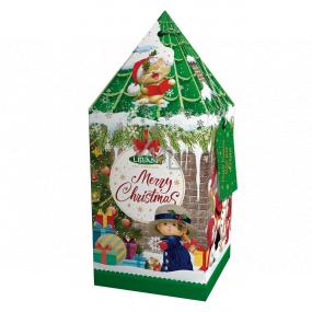 Liran Vánoční balení zeleného čaje Věž zelená 20 x 2 g