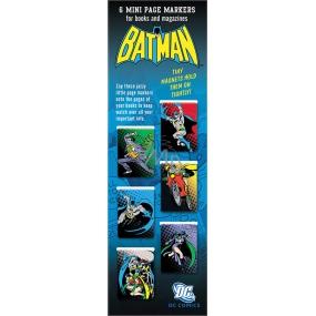 If Mini Mark Záložky Batman 6 kusů