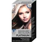 Professional Hair Care Destiny 5D Decolour Platinium bílý platinový melír na vlasy 40 g + 80 ml