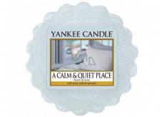 Yankee Candle A Calm & Quiet Place - Klidné a tiché místo vonný vosk do aromalampy 22 g