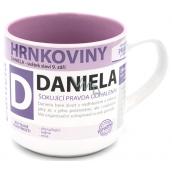 Nekupto Hrnkoviny Hrnek se jménem Daniela 0,4 litru