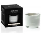 Millefiori Natural White Musk - Bílé pižmo Vonná svíčka hoří až 60 hodin 180 g