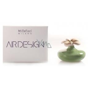 Millefiori Milano Air Design Difuzér květina nádobka pro vzlínání vůně pomocí porézní vrchní části malá zelená