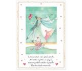 Albi Hrací přání do obálky Novomanželé se líbají Strach, Seidlová Nám se stalo něco 14,8 x 21 cm