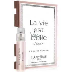 Lancome La Vie est Belle L Eclat parfémovaná voda pro ženy 1,2 ml s rozprašovačem, vialka