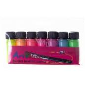 Art e Miss Barva na textil svítící - svítí ve tmě sada 7 x 12 g