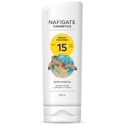 Nafigate Cosmetics Organic Sunscreen SPF15 opalovací emulze s přírodním UV filtrem 200 ml