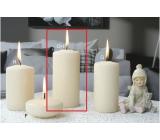 Lima Ice pastel svíčka creme válec 60 x 120 mm 1 kus