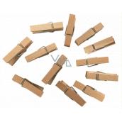 Kolíčky dřevěné 3,5 cm, 12 kusů