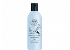 Ziaja Jeju Černé sprchové mýdlo s protizánětlivými a antibakteriálními účinky 300 ml