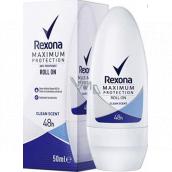 Rexona MaxPro Clean Scent antiperspirant deodorant roll-on pro ženy 50 ml