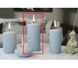 Lima Ice pastel svíčka světle modrá válec 60 x 120 mm 1 kus