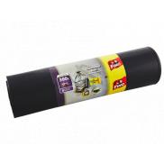 Fino Construction Bags pytle na odpad černé, 70 µ, 300 litrů, 135 x 146 cm, 6 kusů