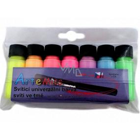 Art e Miss Sada univerzálních barev svítících ve tmě 7 x 12 g