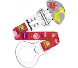 Mam Clip Monster pásek na šidítko různé motivy a barvy 1 kus