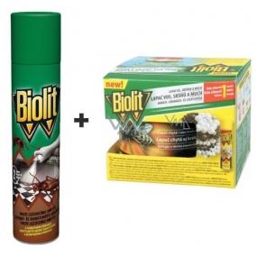Biolit P Proti lezoucímu hmyzu s desinfekční přísadou 400 ml + lapač vos, sršňů a much komplet 200 ml