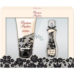 Christina Aguilera Signature parfémovaná voda pro ženy 15 ml + sprchový gel 50 ml, dárková sada 2015