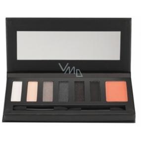 Barry M Smokin Hot Palette paleta očních stínů s tvářenkou 0115, 9,2g