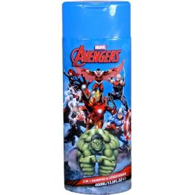 Marvel Avengers 2v1 šampon a kondicionér pro děti 400 ml
