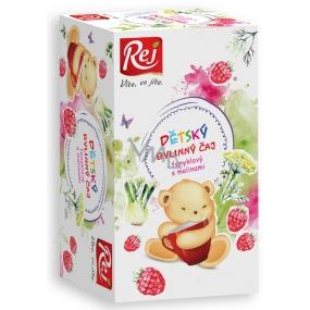 Rej Fenykl s maliny Bylinný čaj pro děti nálevové sáčky 20 x 32 g