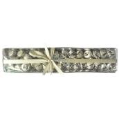 Rolničky stříbrné v krabičce 1,5 cm, 39 kusů