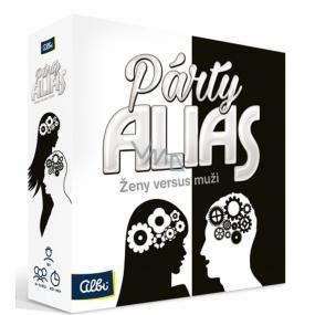 Albi Párty Alias ženy versus muži párty hra Oblíbená párty hra doporučený věk od 18+