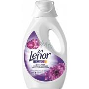 Lenor 2v1 Color Amethyst & Floral Bouquet tekutý prací gel na barevné prádlo 20 dávek 1,1 l