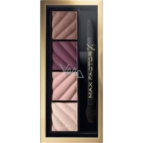 Max Factor Smokey Eye Matte Drama Kit paletka očních stínů 20 Rich Roses 1,8 g