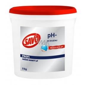Savo pH- Snížení hodnoty a regulace pH v bazénu 5 kg