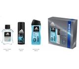 Adidas Ice Dive voda po holení 50 ml + sprchový gel 250 ml + deodorant sprej 150 ml, kosmetická sada