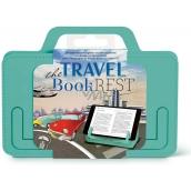 If The Travel Book Rest Cestovní držák na knihu/tablet Mintový 180 x 10 x 142 mm