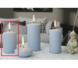 Lima Ice pastel svíčka světle modrá válec 60 x 90 mm 1 kus