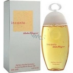 Salvatore Ferragamo Incanto sprchový gel pro ženy 200 ml