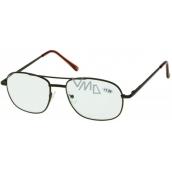 Berkeley Čtecí dioptrické brýle +1,0 hnědé velké 1 kus MC2004