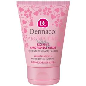 Dermacol Aroma Time Exkluzivní krém na ruce a nehty 50 ml