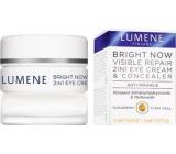 Lumene Bright Now Visible Repair 2v1 oční krém 12 ml a korektor 5 ml