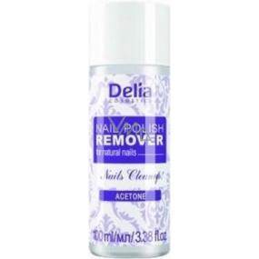 Delia Nail Polish Remover acetonový odlakovač na nehty 100 ml