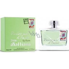 John Galliano Parlez-Moi d Amour Eau Fraiche toaletní voda pro ženy 50 ml
