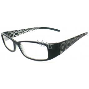 Berkeley Čtecí dioptrické brýle +1,50 černé 1 kus R7603 PD62