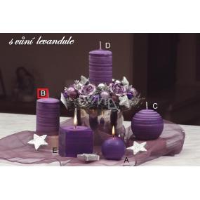 Lima Wellness Levandule aroma svíčka válec 60 x 90 mm 1 kus
