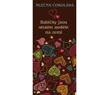Bohemia Gifts & Cosmetics Babičce Mléčná čokoláda dárková 100 g