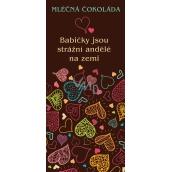 Bohemia Gifts & Cosmetics Mléčná čokoláda Babičce, dárková 100 g