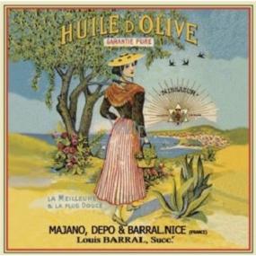 Le Blanc Levandule Huile d Olive La Nicoise Vonný sáček 11 x 11 cm 8 g