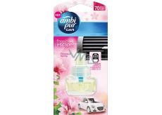 Ambi Pur Car Flowers and Spring náhradní náplň 7 ml