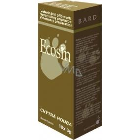 Ecosin Chytrá houba pro zvířata eliminuje kvasinkové organismy na kůži, srsti, drápech a jiných kožních derivátech 10 x 3 g