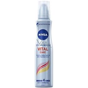 Nivea Vital Care extra silně tužící pěnové tužidlo 150 ml