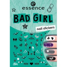 Essence Nail Art Bad Girl nálepky na nehty 02 1 aršík