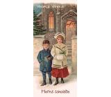 Bohemia Gifts & Cosmetics Veselé Vánoce Hořká vánoční čokoláda 100 g