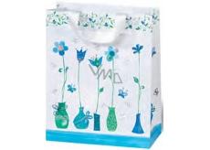 BSB Dárková papírová taška malá 14,5 x 15 x 6 cm Blue Dreams LDT 372-CD