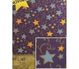 Nekupto Vánoční balicí papír Hvězdy 2 x 0,7 m BVS 891 40